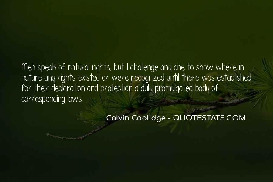 Quotes About Protection Of Nature #1539286