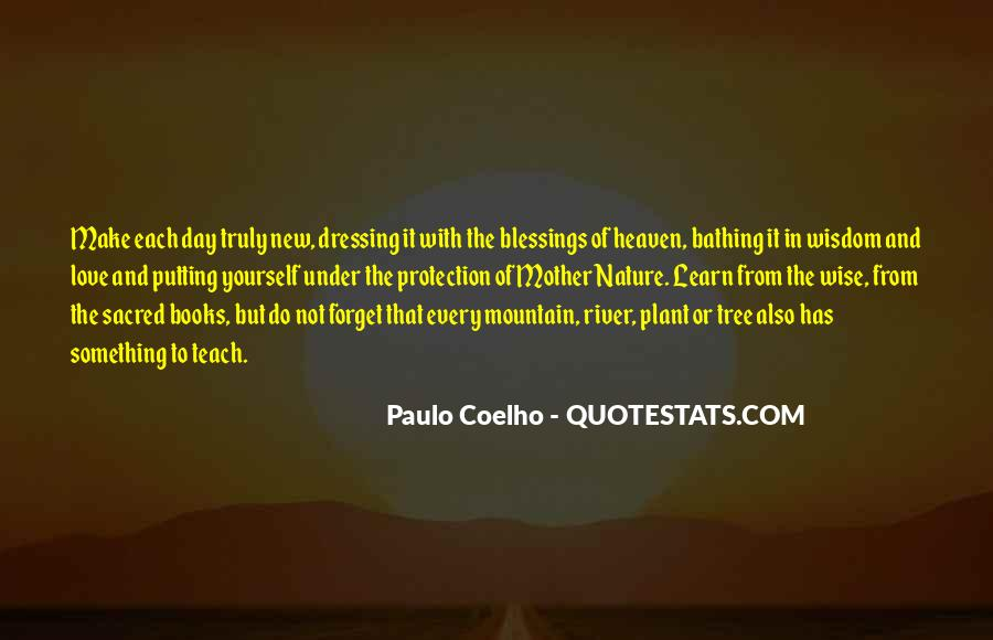 Quotes About Protection Of Nature #1836173