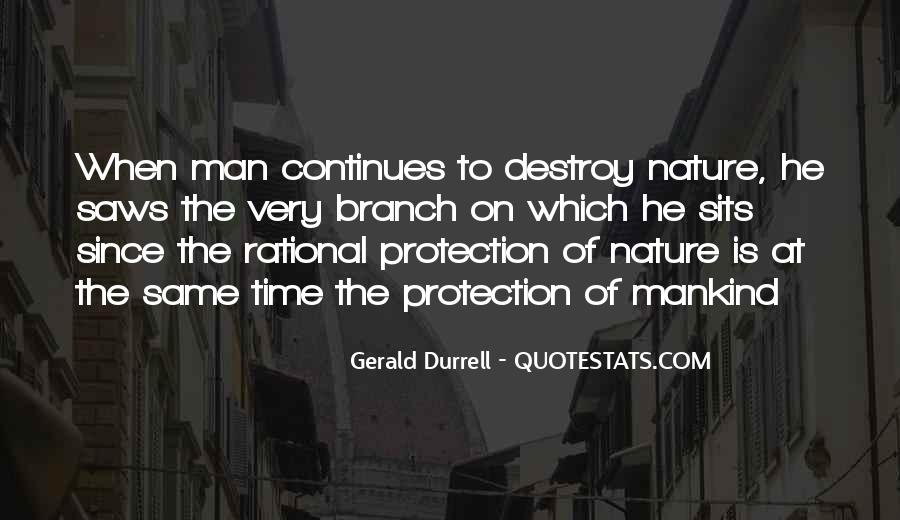 Quotes About Protection Of Nature #201946
