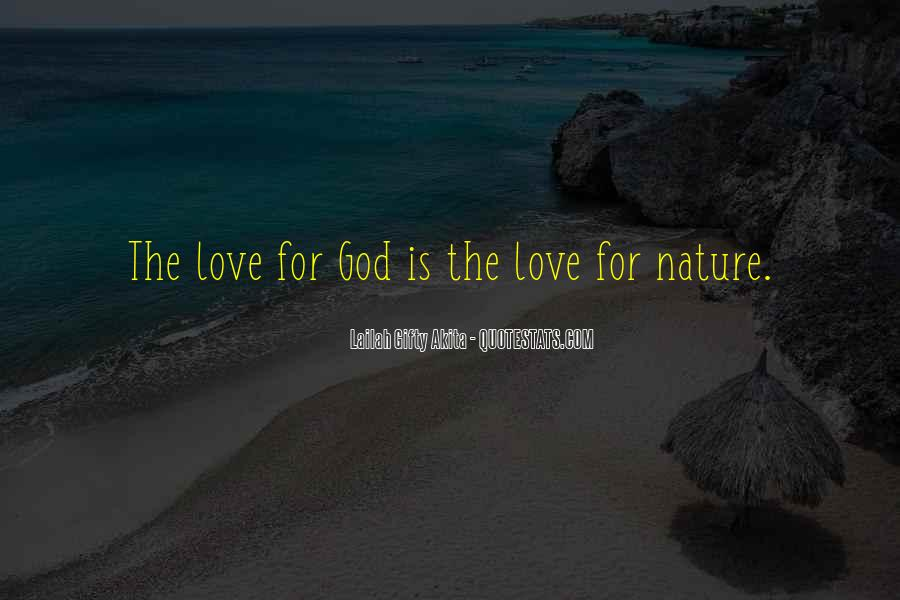 Quotes About Protection Of Nature #264903