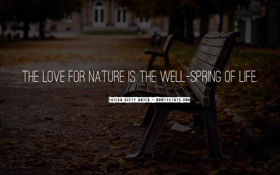Quotes About Protection Of Nature #341544