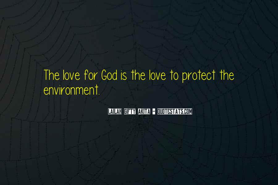 Quotes About Protection Of Nature #53033