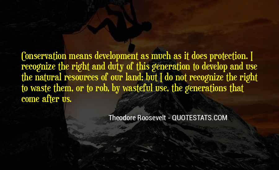 Quotes About Protection Of Nature #785337