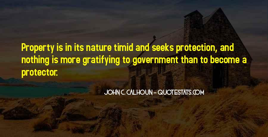 Quotes About Protection Of Nature #839461