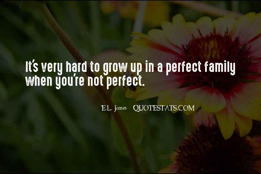 Quotes About Not Perfect Family #1702641