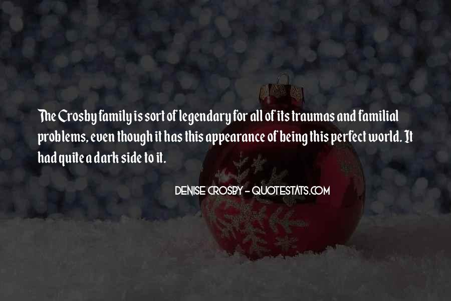 Quotes About Not Perfect Family #634015