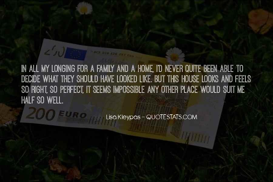 Quotes About Not Perfect Family #799867