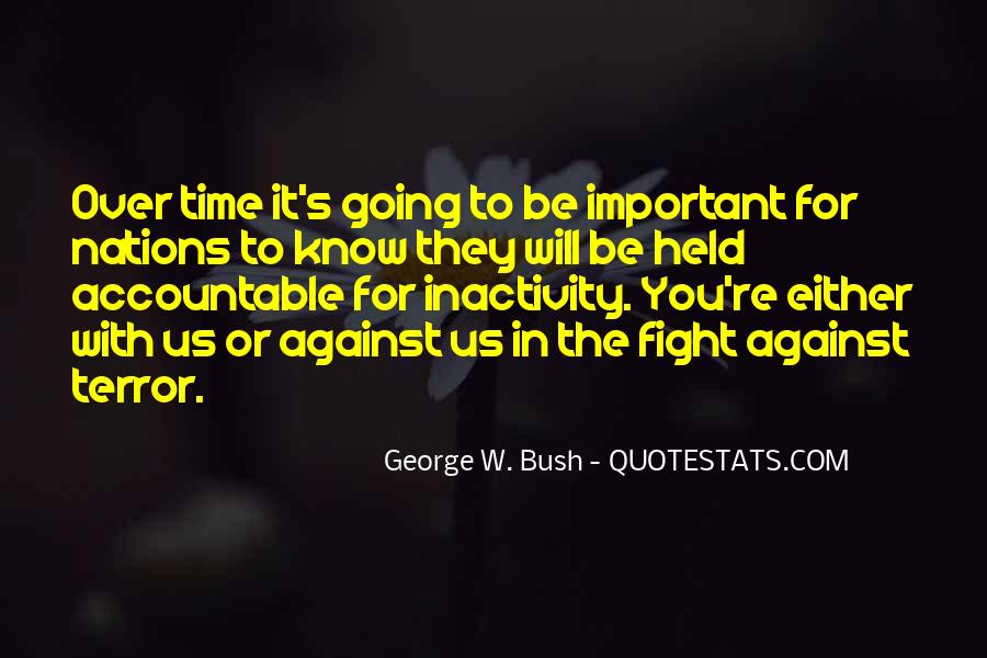 Quotes About Fighting For What's Important To You #544797