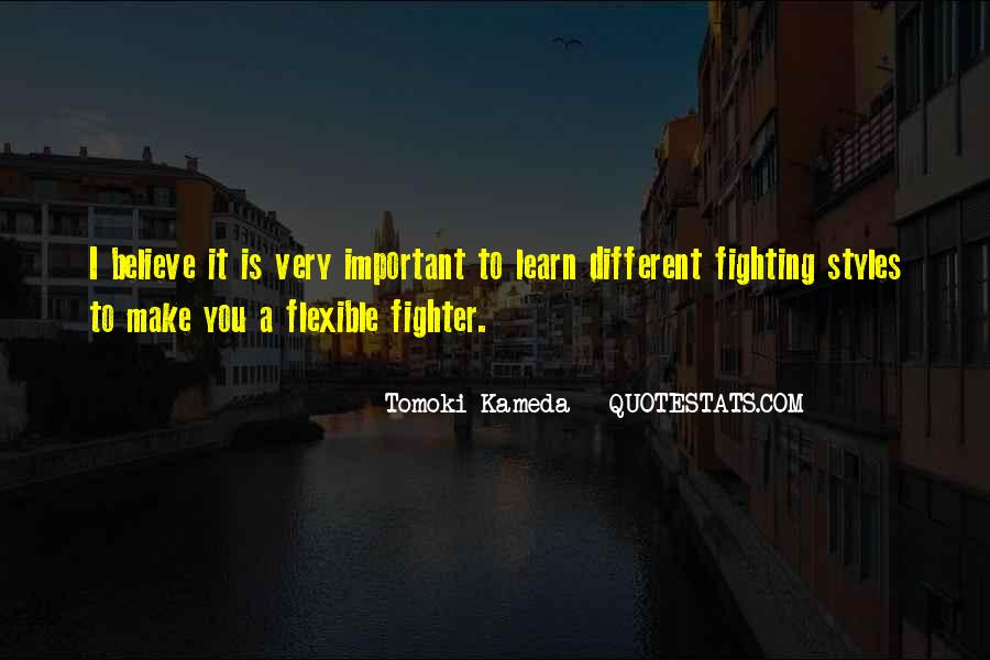 Quotes About Fighting For What's Important To You #635653