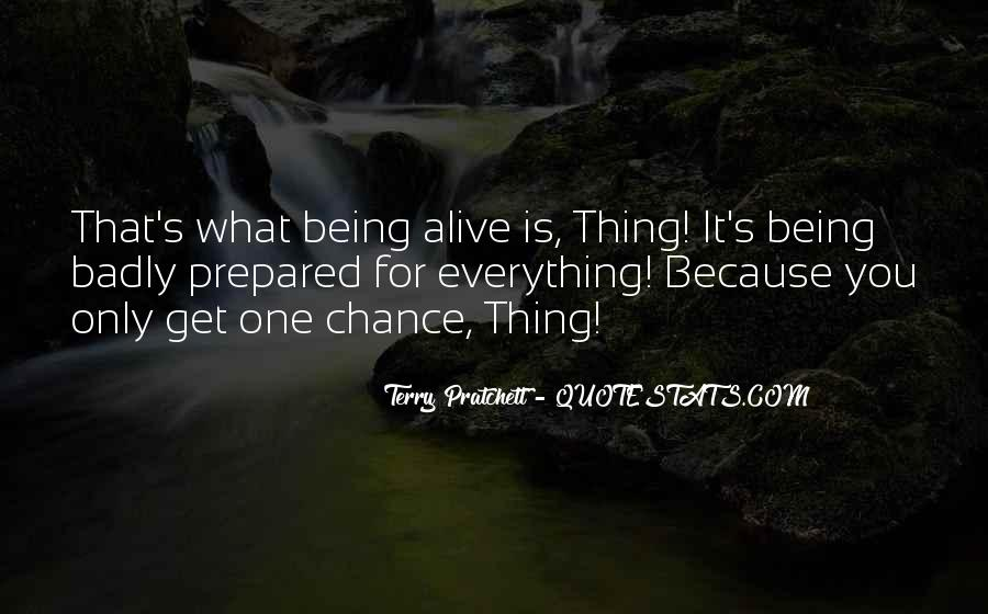 Quotes About Being Prepared For Life #939433
