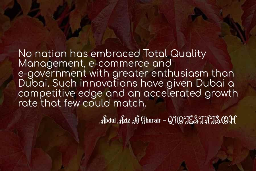 Quotes About Total Quality Management #385408