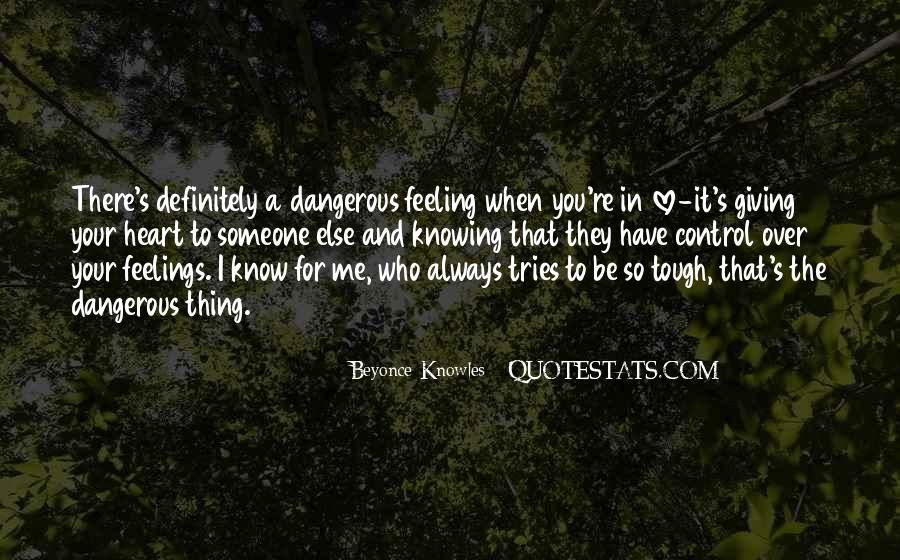 Quotes About Knowing You Love Someone #101408
