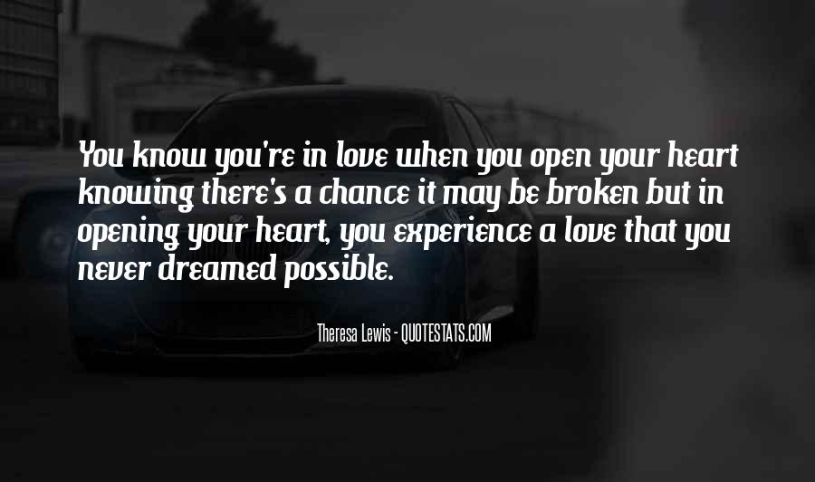 Quotes About Knowing You Love Someone #114808