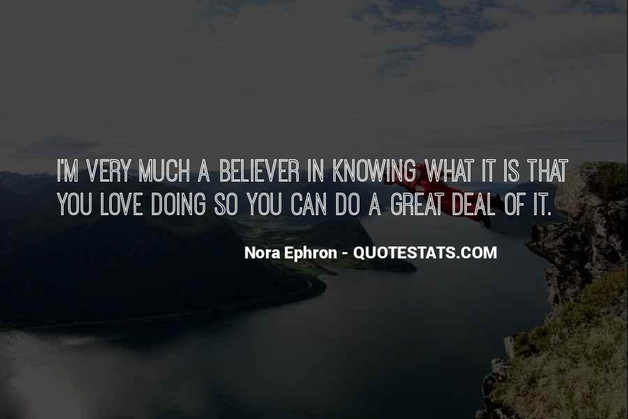 Quotes About Knowing You Love Someone #118144