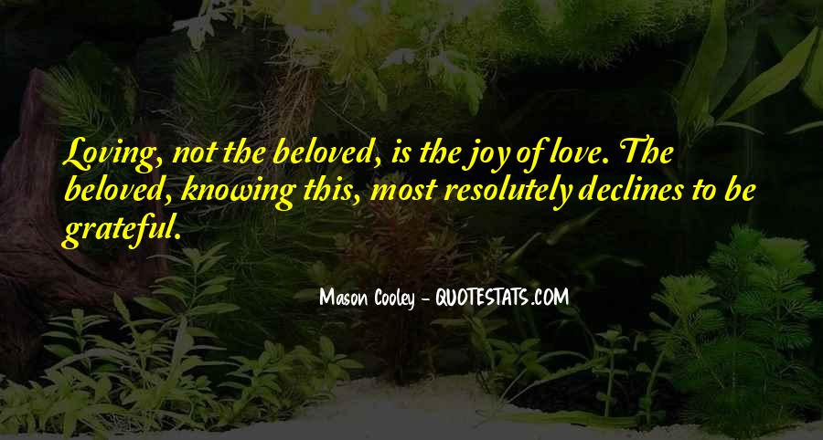 Quotes About Knowing You Love Someone #123137