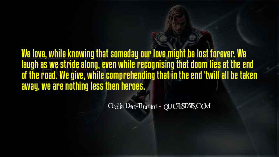 Quotes About Knowing You Love Someone #131841