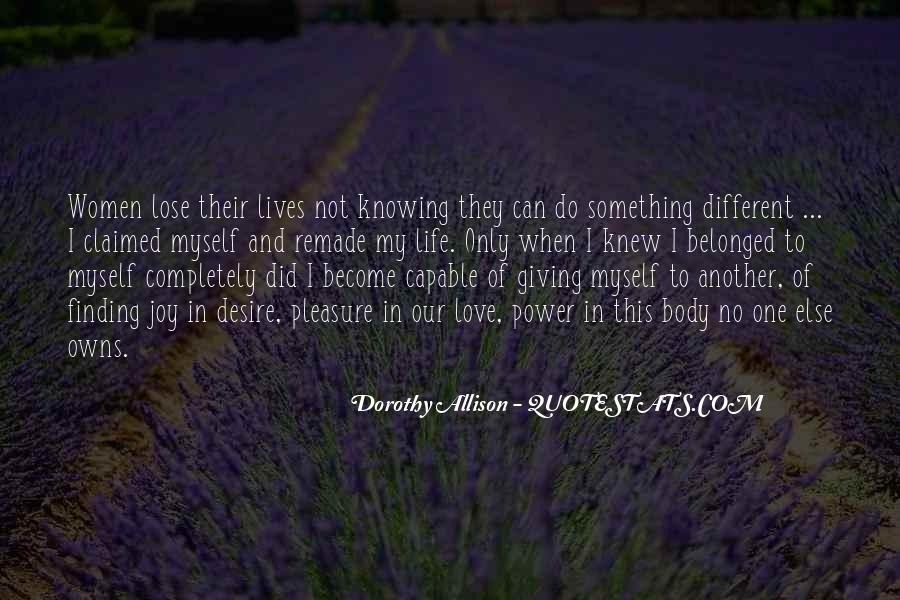Quotes About Knowing You Love Someone #140762