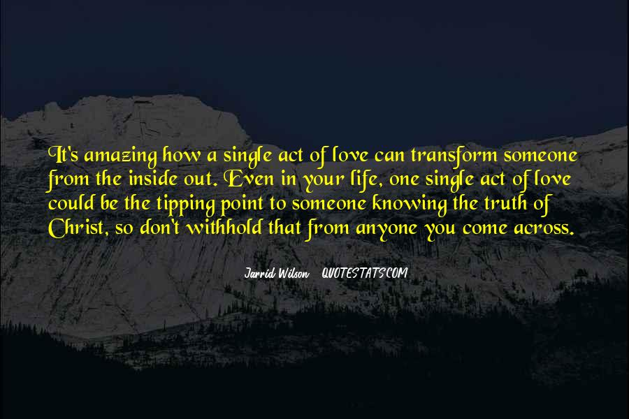 Quotes About Knowing You Love Someone #1463547