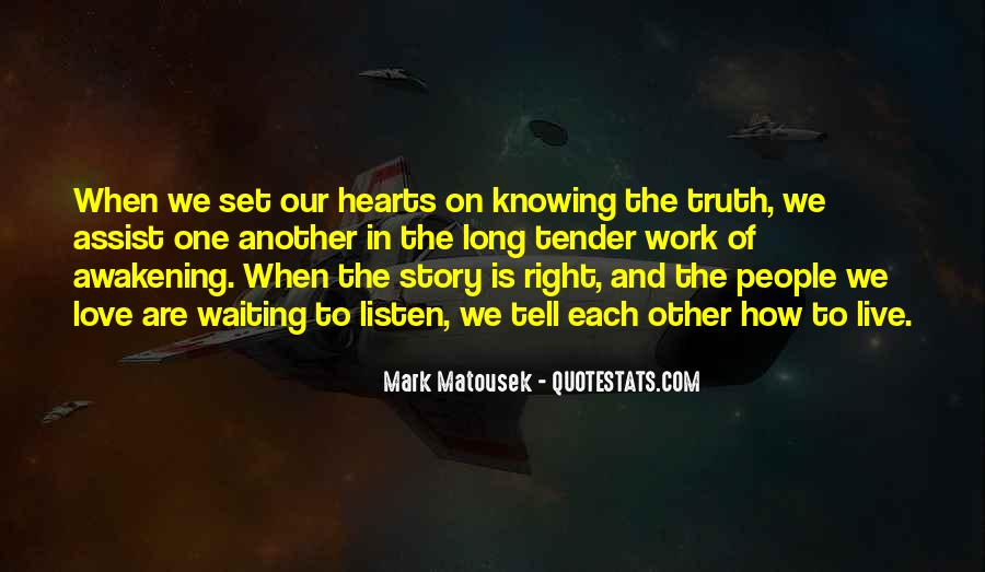 Quotes About Knowing You Love Someone #150893