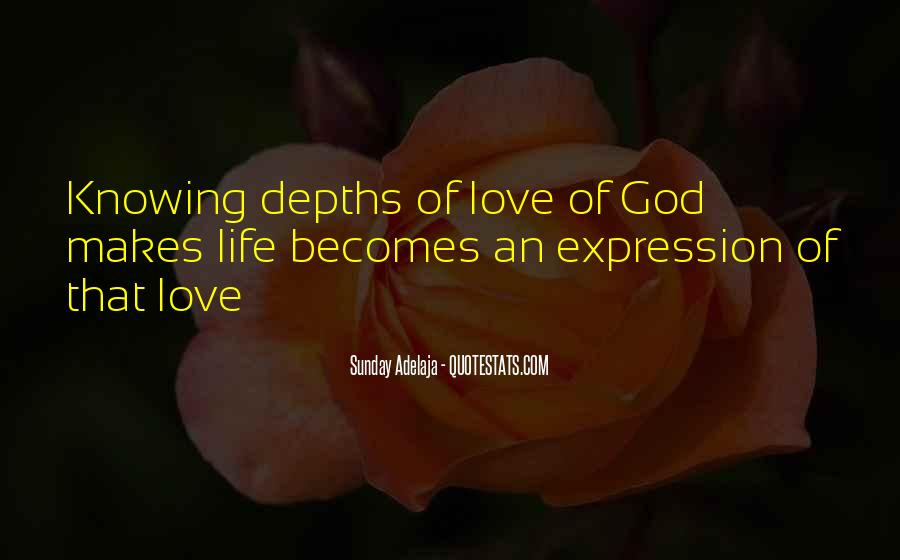 Quotes About Knowing You Love Someone #45917
