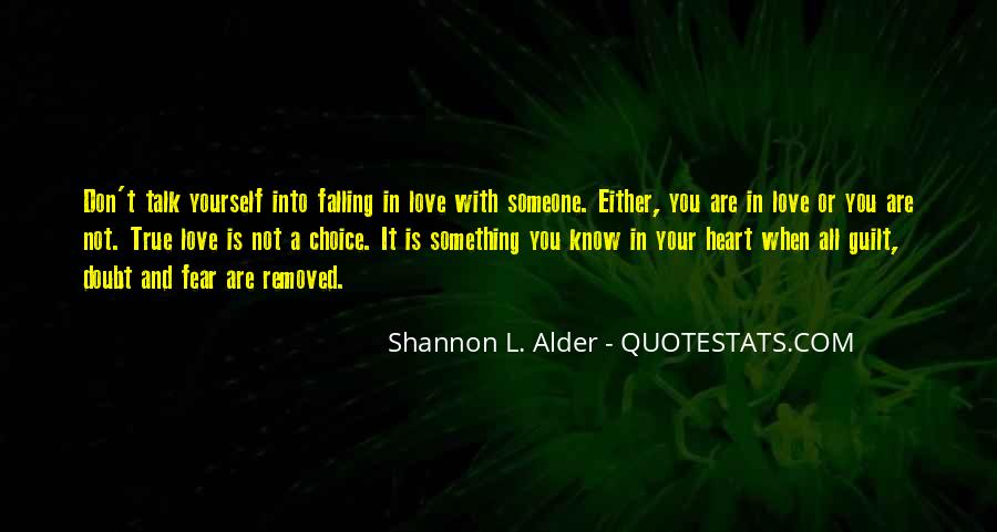 Quotes About Knowing You Love Someone #475931