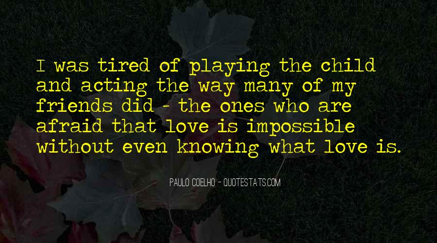 Quotes About Knowing You Love Someone #53431