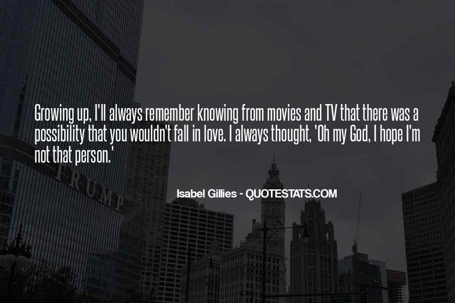 Quotes About Knowing You Love Someone #90532