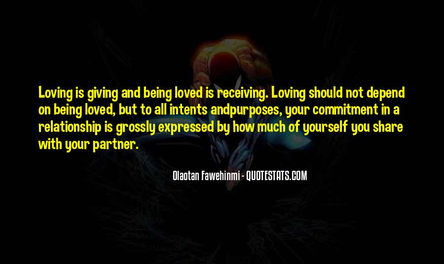 Quotes About Giving All Of Yourself #1260918