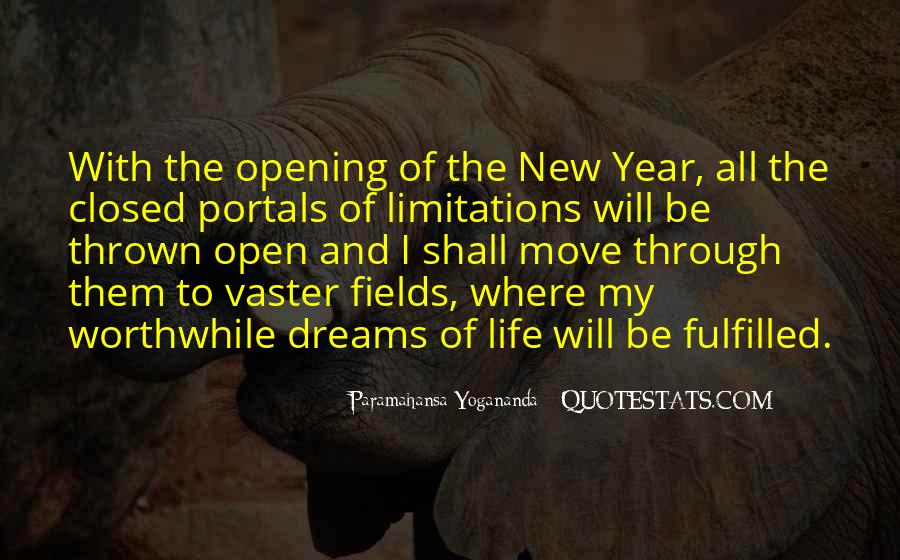 Quotes About Fields Of Dreams #109457