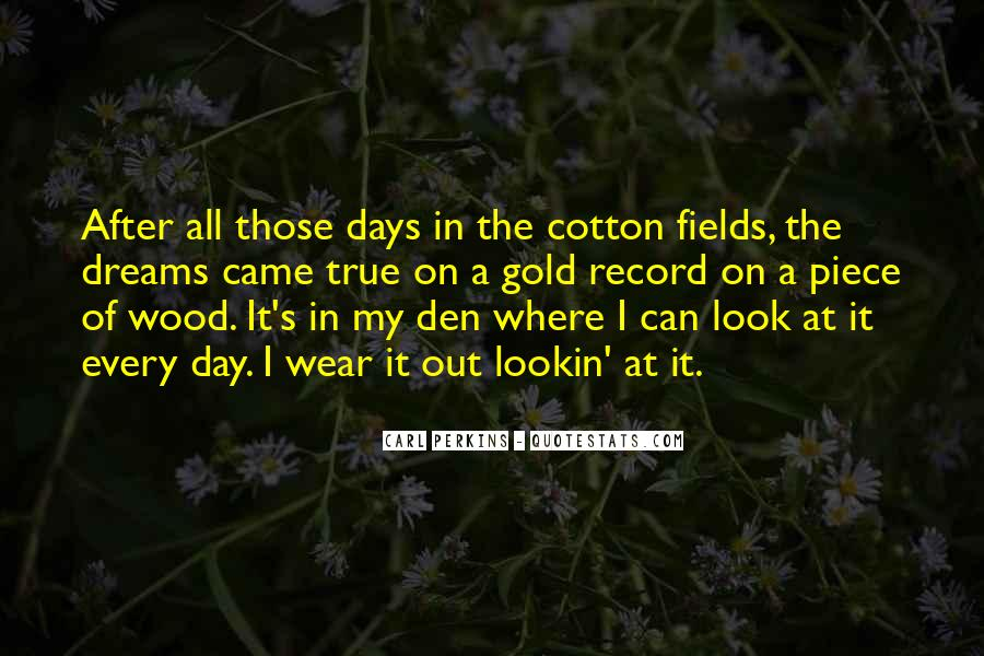 Quotes About Fields Of Dreams #1233081