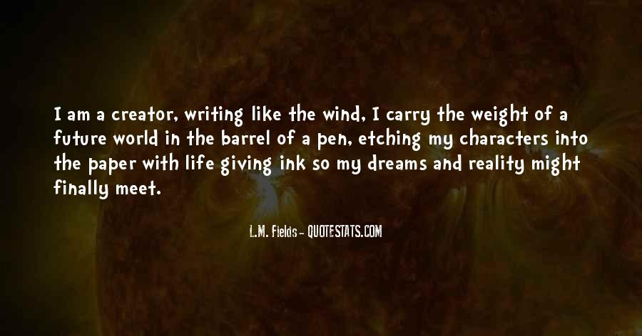Quotes About Fields Of Dreams #315256
