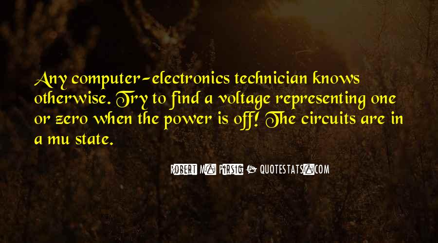 Quotes About Voltage #276576