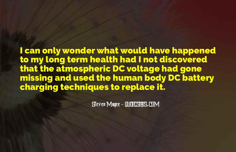 Quotes About Voltage #373850
