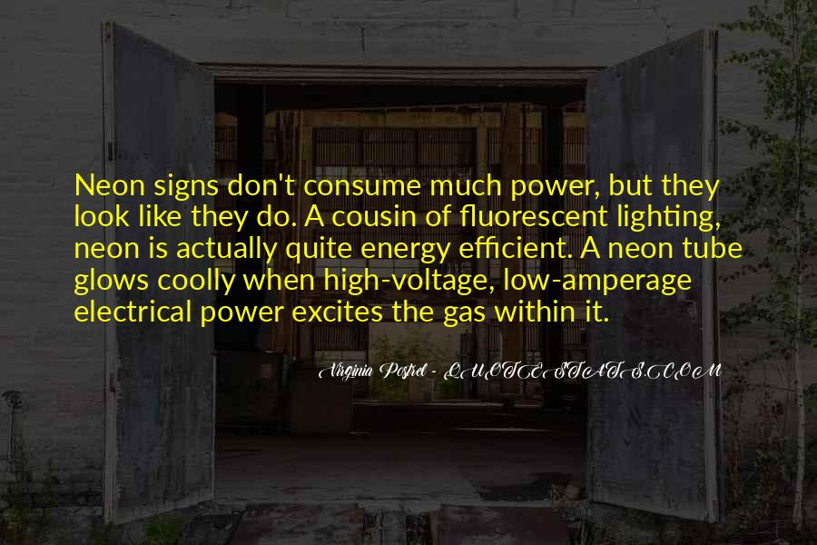 Quotes About Voltage #888474