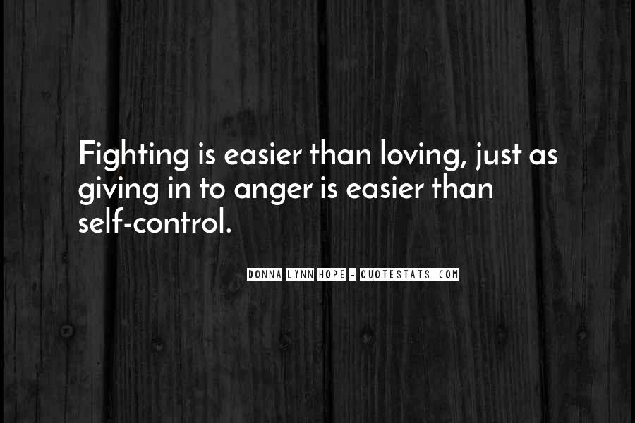 Quotes About Anger Control #1221184