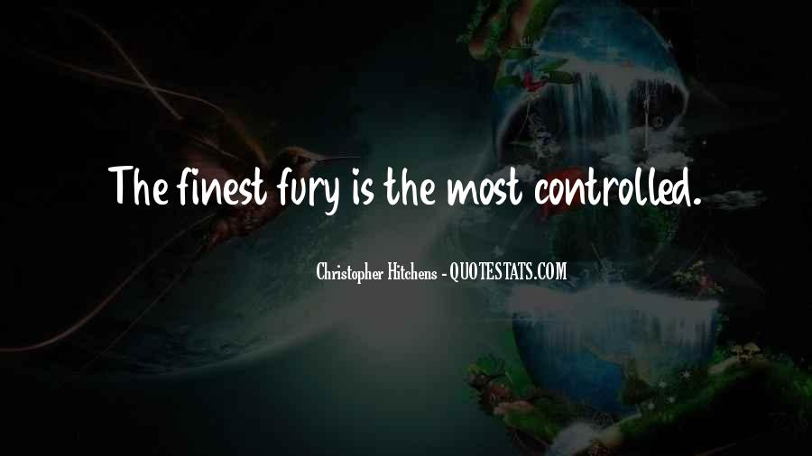 Quotes About Anger Control #1338578
