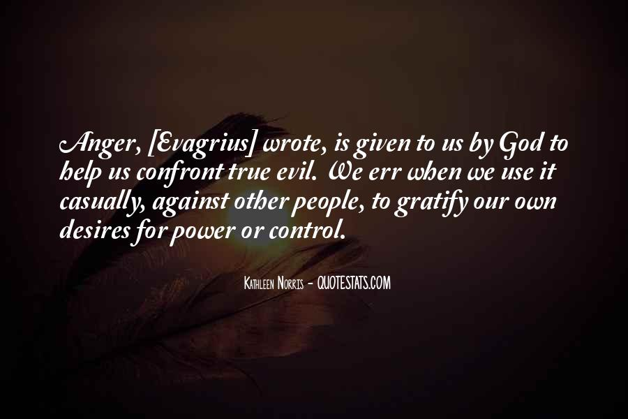 Quotes About Anger Control #1349714