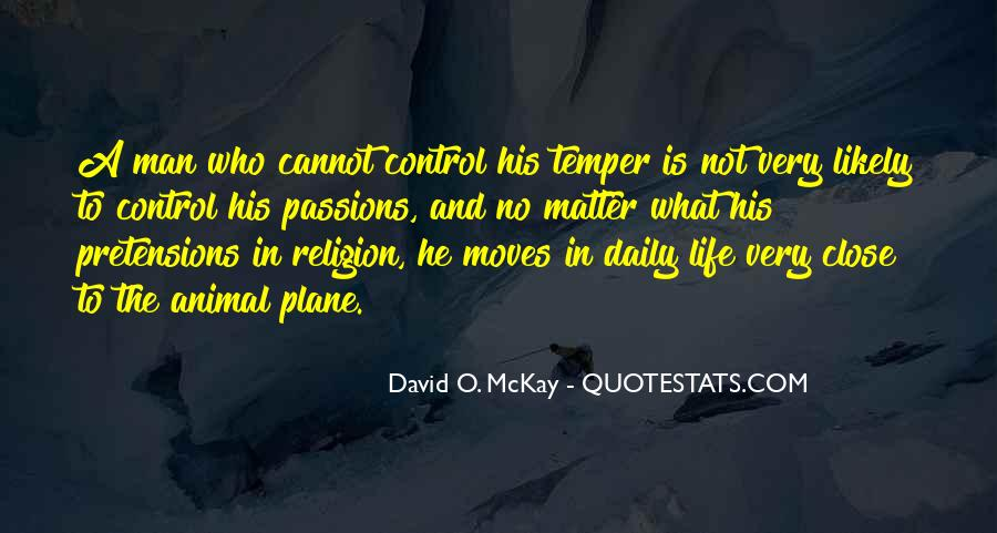 Quotes About Anger Control #13539