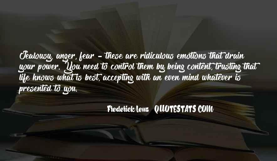 Quotes About Anger Control #1360244