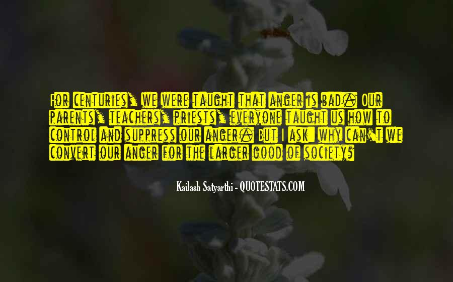 Quotes About Anger Control #1385129