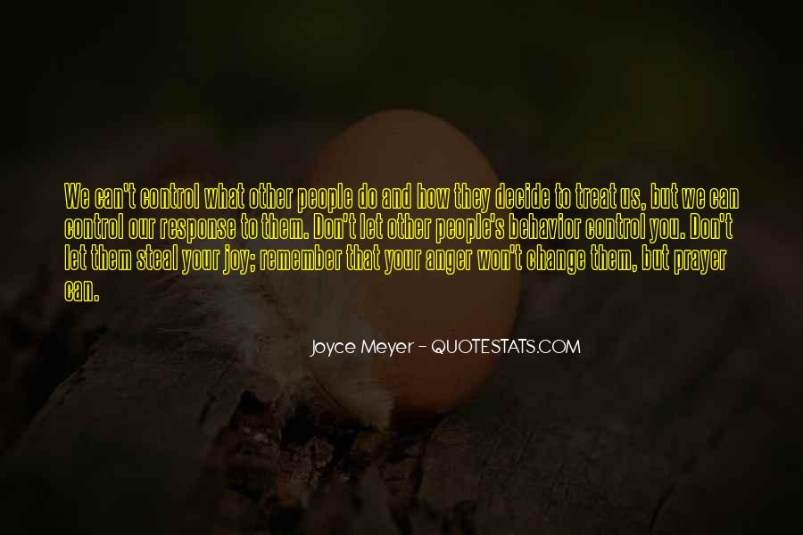 Quotes About Anger Control #1445361
