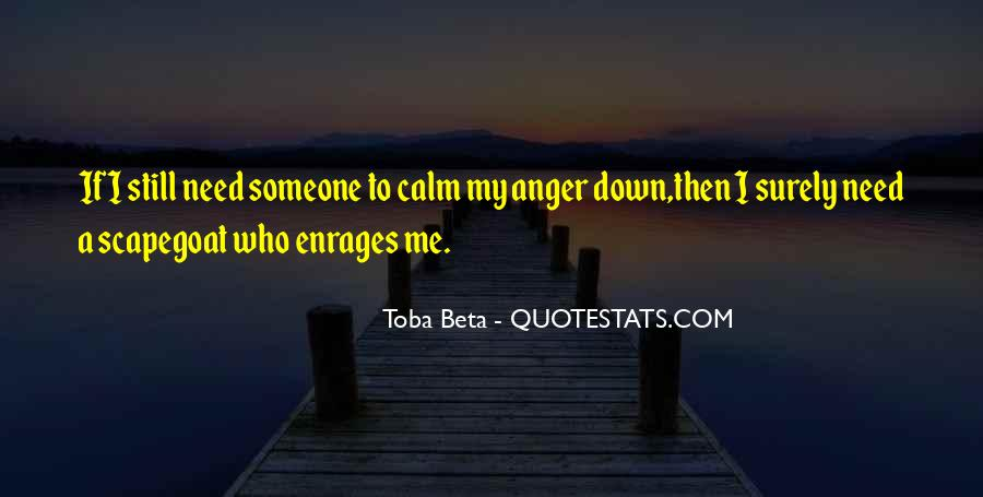 Quotes About Anger Control #1561321