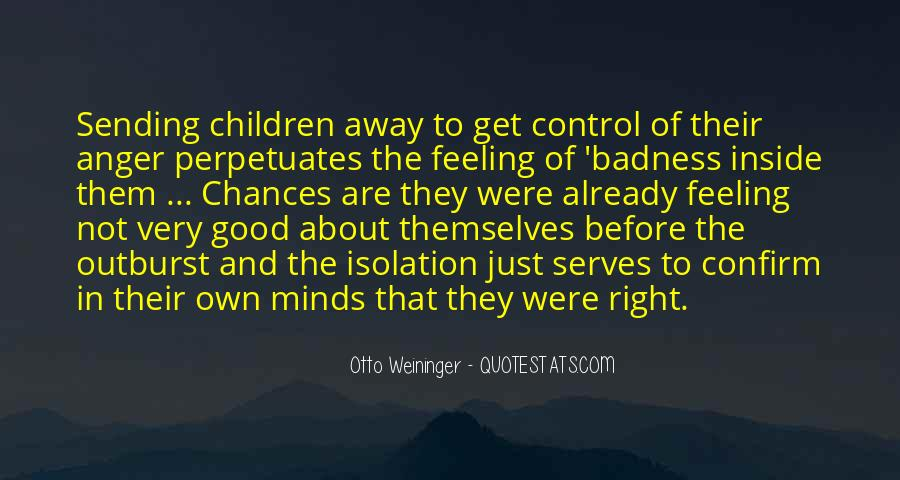 Quotes About Anger Control #494719