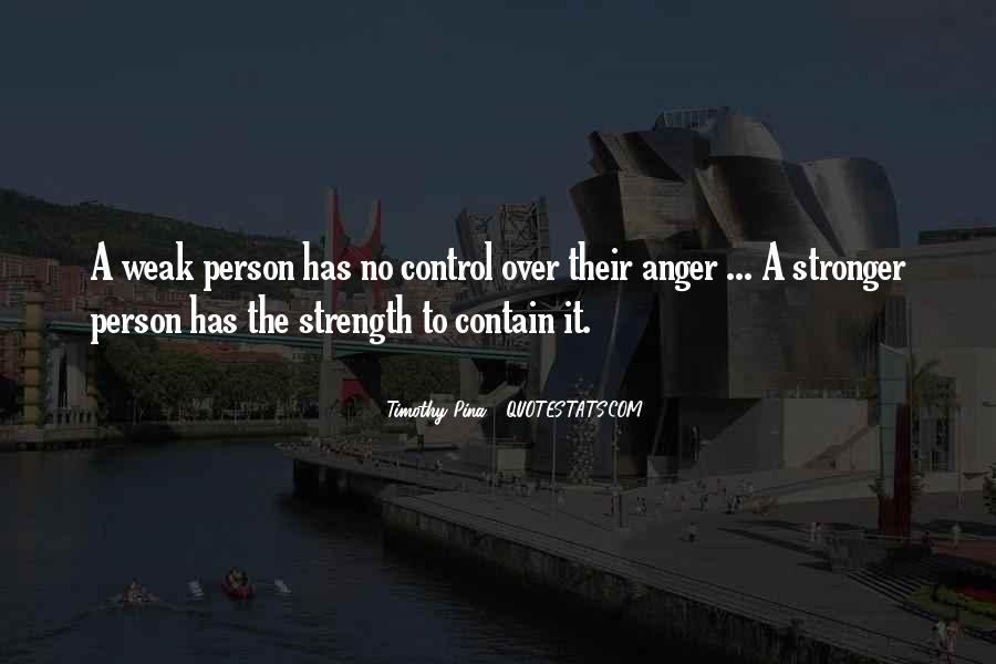 Quotes About Anger Control #669312