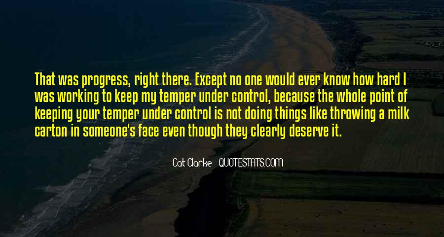 Quotes About Anger Control #715155