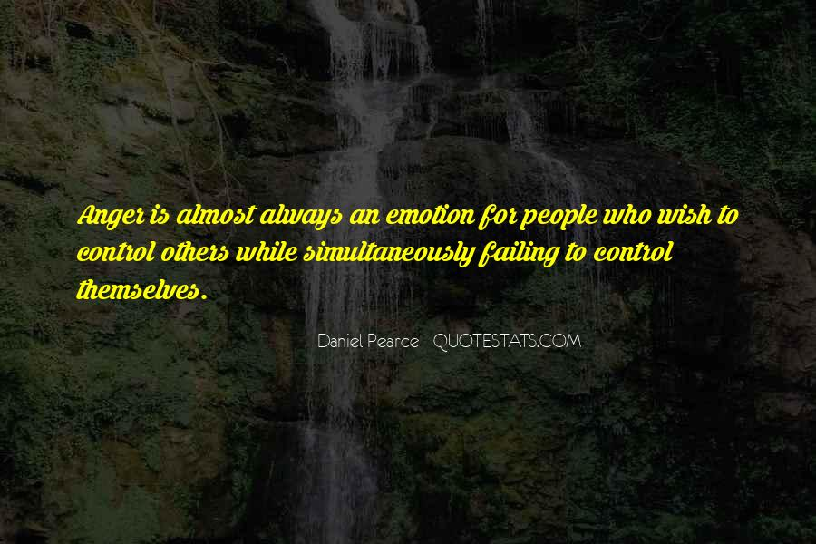 Quotes About Anger Control #741731