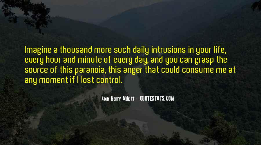 Quotes About Anger Control #769503