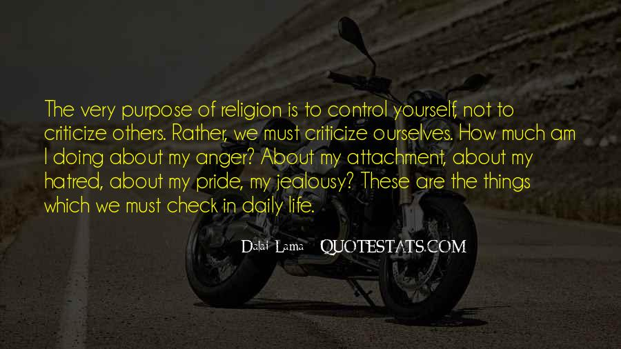 Quotes About Anger Control #834339