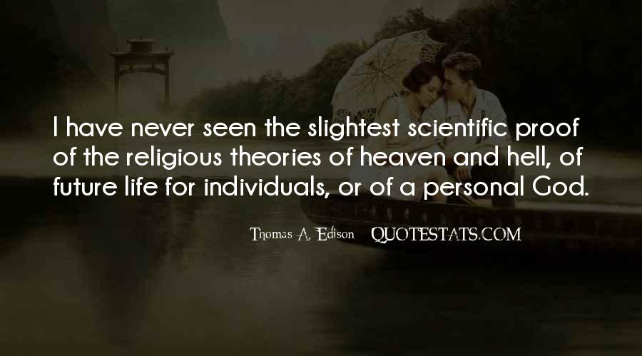 Quotes About Proof Of Heaven #1581325