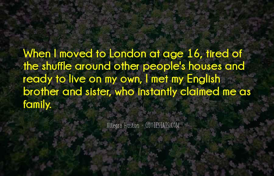 Quotes About Little Houses #19544